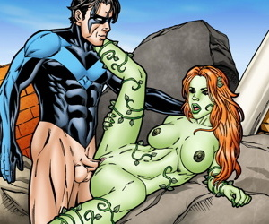 Nightwing and Poison Ivy