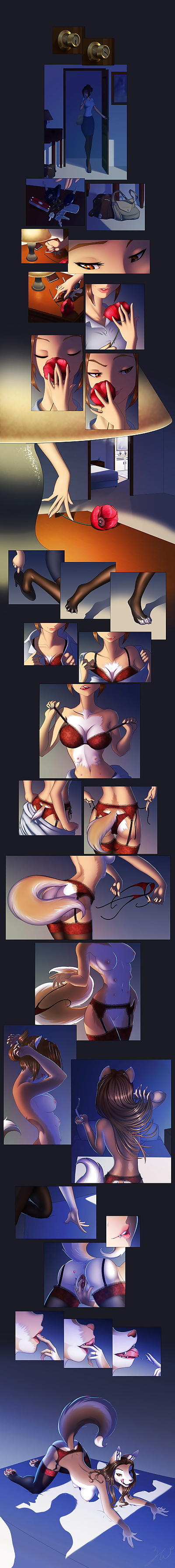 Anthro Hanging Breasts -..